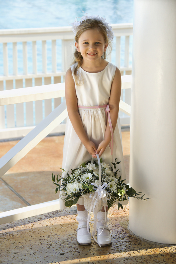Flower Girls' Baskets and Posies