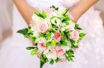 Hand Tied Bridesmaids' Bouquets