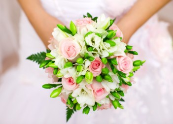 Hand Tied Bridesmaids' Bouquets Pink bridesmaids bouquet 8606487 s 351x252