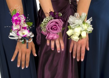 Wrist Corsages Three corsages 2223015 s 351x252