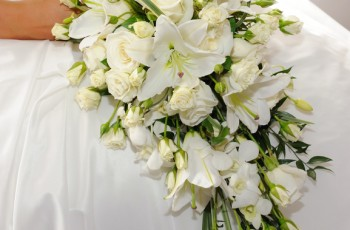 Teardrop Bridal Bouquets