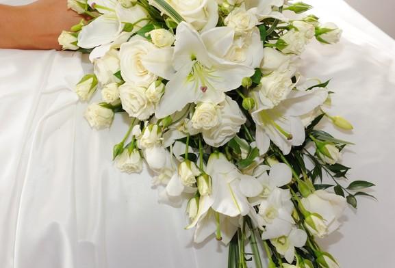 Teardrop Bridal Bouquets